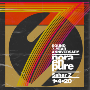 Nora En Pure Sound 7 Year Anniversary 2020 January 2020 Sahar Z