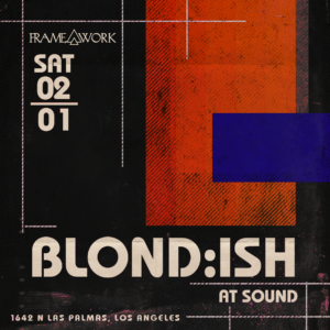 Blond:ish blondish Sound Framework February 2020