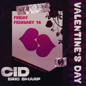CID Eric Sharp Valentines Day Sound February 2020