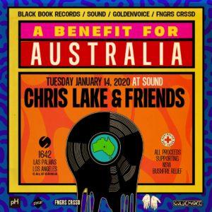 Chris Lake Australia Benefit Sound Nightclub Goldenvoice