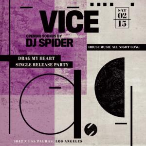 Vice DJ Spider Sound Nightclub February 2020