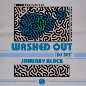 washed out dj set sound nightclub los angeles february 21 2020